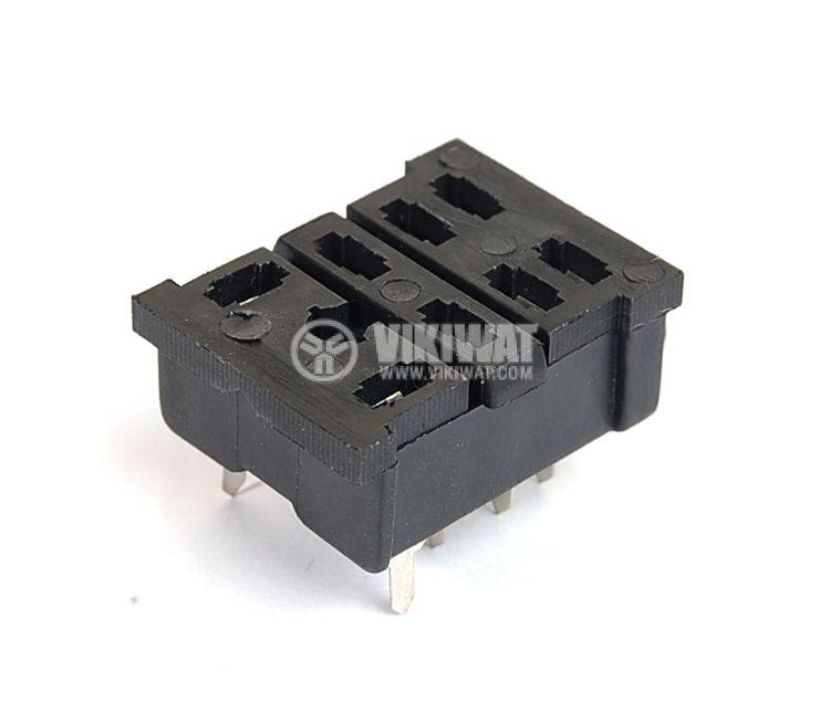Цокъл за реле PT08A 300VAC 10А 8pin - 1