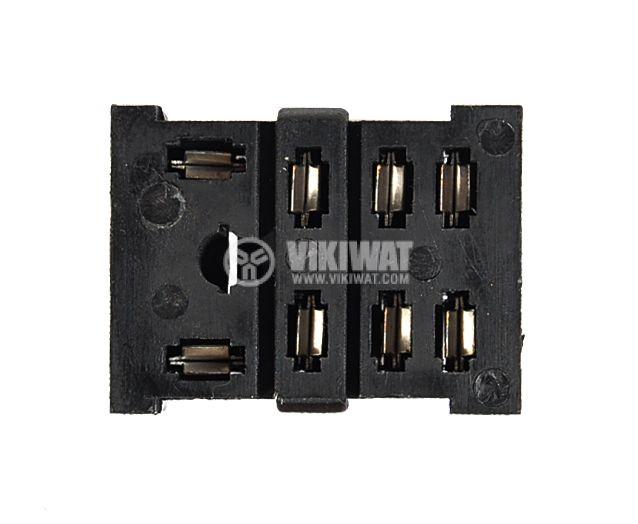 Цокъл за реле PT08A 300VAC 10А 8pin - 3