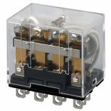 Електромагнитно реле универсално бобина 240VAC 250VAC/10A 4PDT - 4NO+4NC LY4