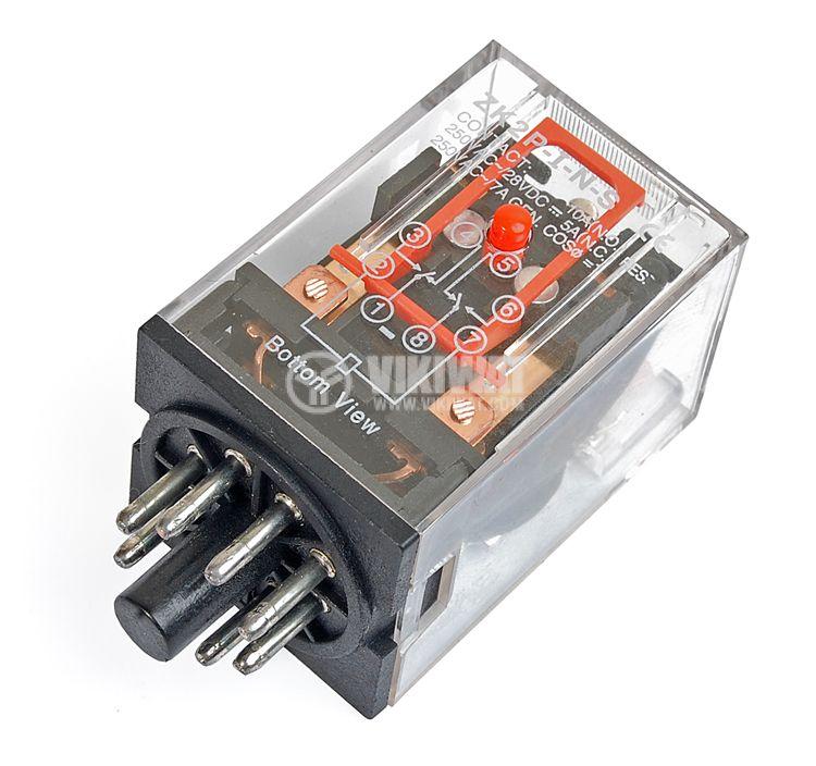 Реле електромагнитно MK2P - 1