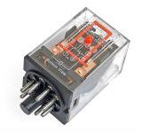 Реле електромагнитно MK2P, бобина 220VAC, 250VAC/10A, DPDT 2NO+2NC
