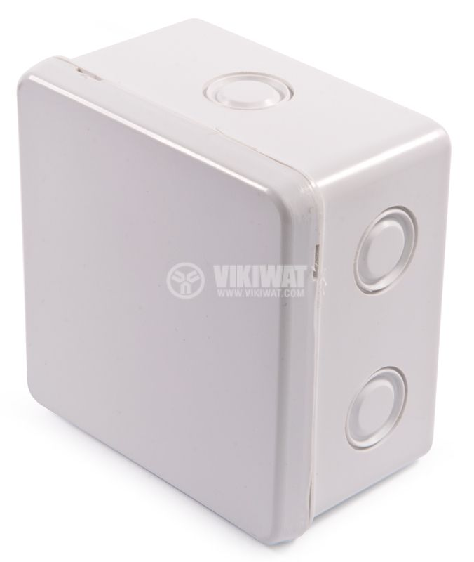 Branch box, without glands, white - 1
