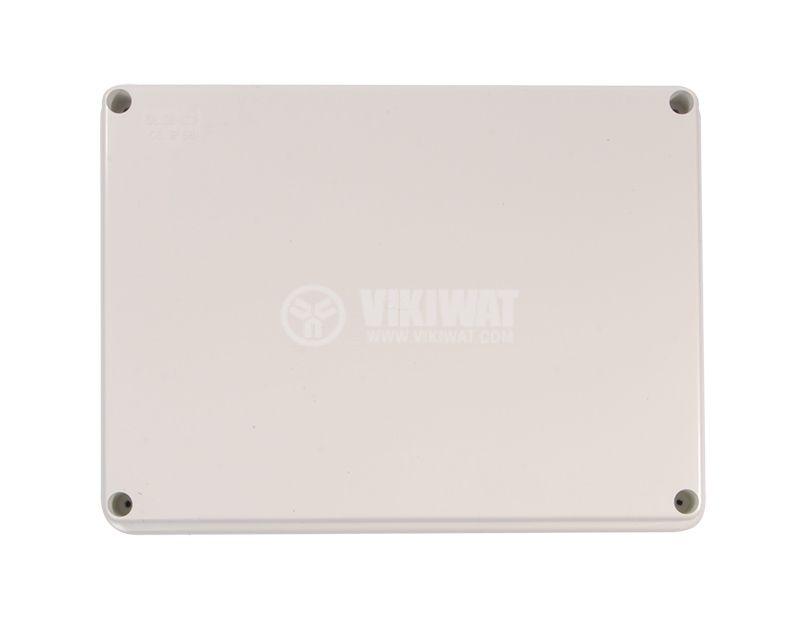 Enclosure box VB-AG-1914, 190x140x70mm, IP66,  grey  - 1