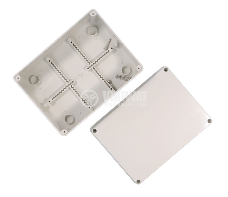 Enclosure box VB-AG-1914, 190x140x70mm, IP66,  grey  - 4