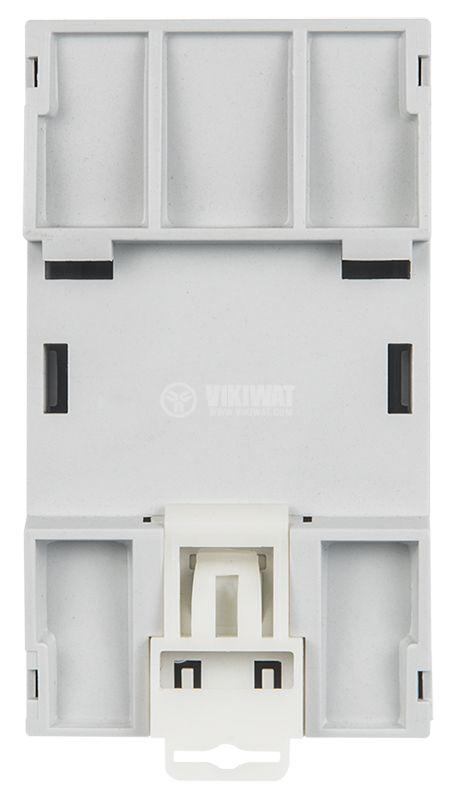 Enclosure Box 3M, 94x68x53mm, gray, DIN rail - 4