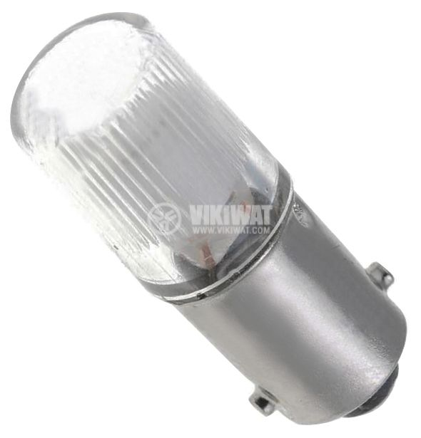 Специална лампа, 220 V, BA9s, неонова, червена