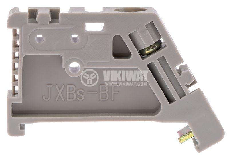 Ограничител за редова клема, JXBs-BF, DIN шина - 2