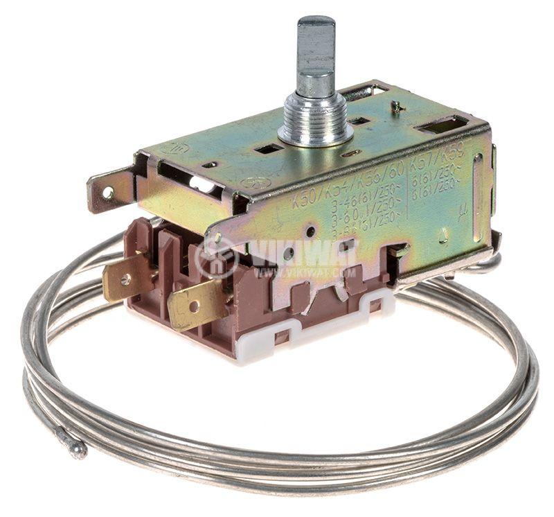 Capillary thermostat K50-P110, -35°C +15°C, NC, 6A/250VAC - 1