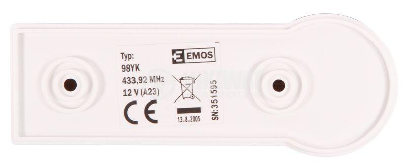 Wireless bell button EMOS  - 3