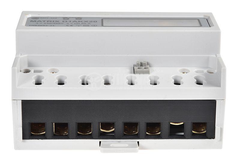 Еnergy meter three phase, MATRIX D1AKX20, electronic, 400V, 5A   - 4