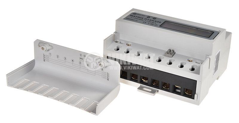 Еnergy meter three phase,  MATRIX D1AKX20,  electronic,  400V,  5A - 5