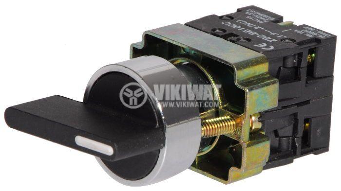 Ключ LAY5-BJ35 400VAC/10A черен - 2