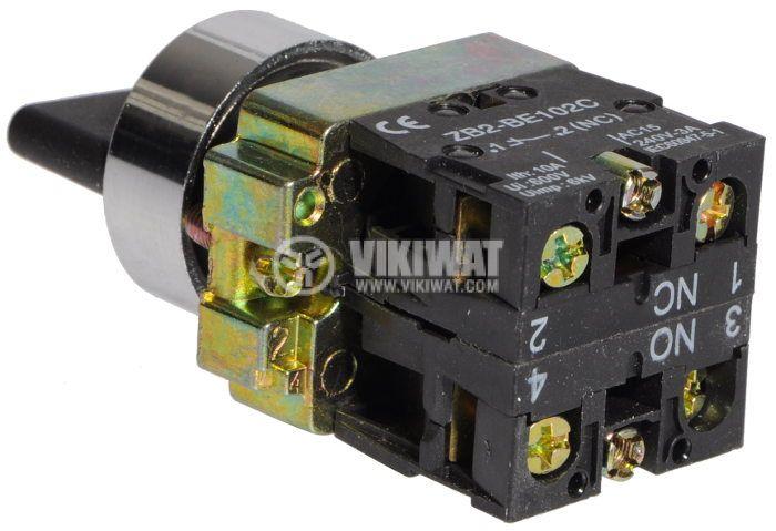 Ключ LAY5-BJ35 10A 2PDT - NО+NC - 3