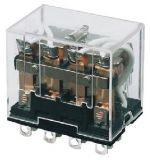Електромагнитно реле универсално бобина 24VDC 250VAC/10A 4PDT - 4NO+4NC LY4