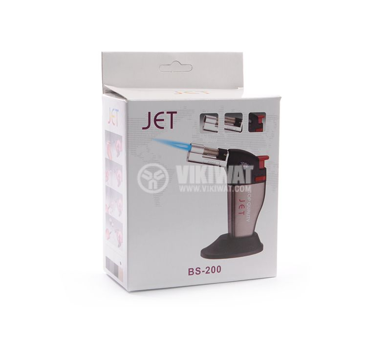 Manual, mini, gas burner Jet bs-200, 40ml - 5