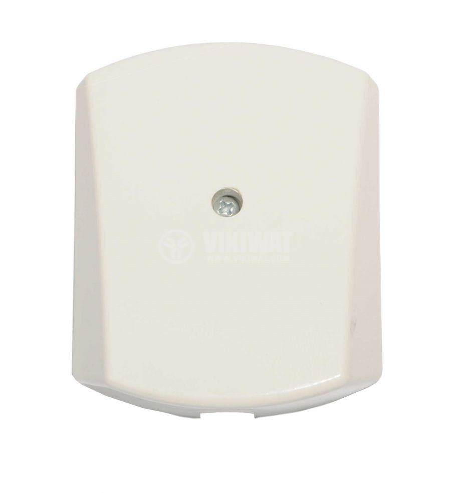 Cable outlet, surface mounting, Ф14mm white - 1