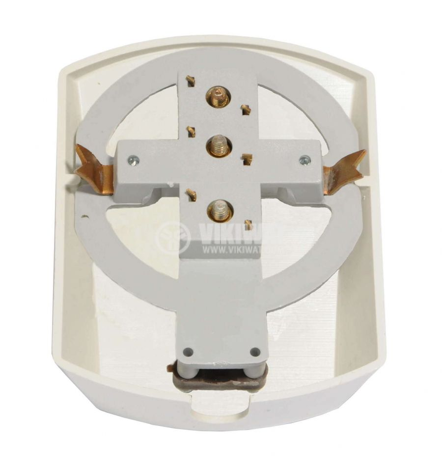 Cable outlet, surface mounting, Ф14mm white - 2