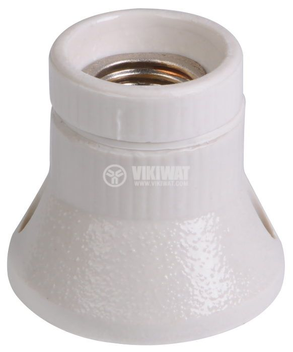 Lamp socket, E27, ceramics