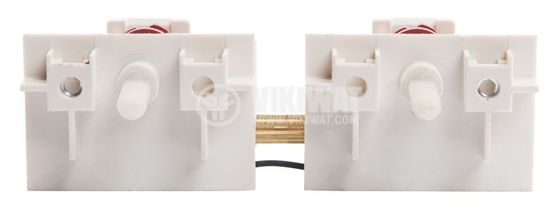Double key for electric ovens and stoves, 7 + 7 positions, 16A, 250VAC - 2