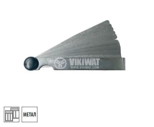 Metric Feeler Gauge, 0.05 - 1 mm - 2