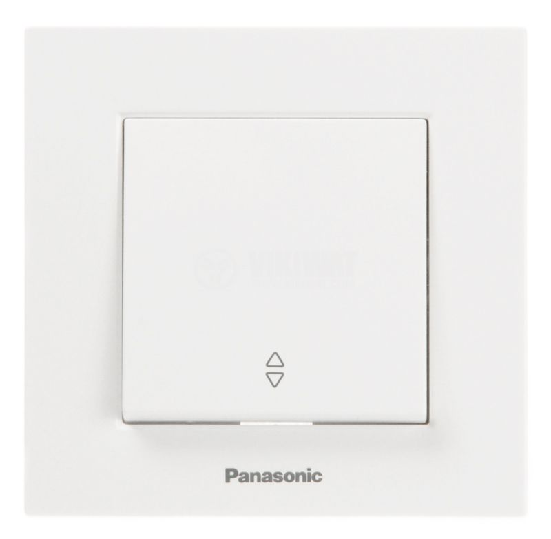 Electrical two-way switch, Panasonic, circuit 6, 10A, 250VAC, white - 4