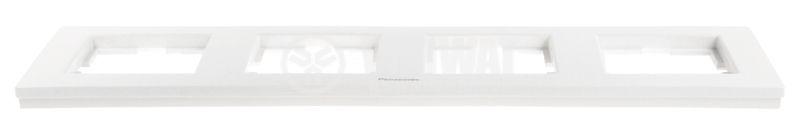 Quad frame, Panasonic, horizontal, 80x300mm, white - 3