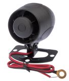 Car siren, 12VDC, 20W, one tone