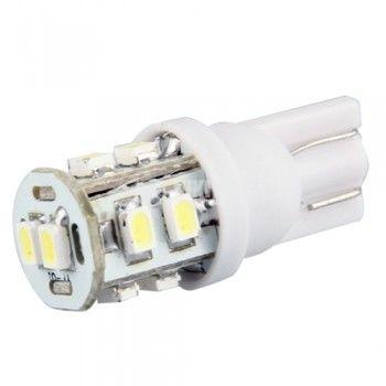 Автомобилна LED лампа W5W 12V студено бяла безцокълна