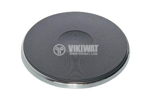 Чугунена нагревателна плоча за котлон Ф95mm, 230VAC, 450W - 1