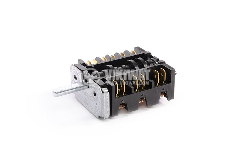 OVEN SWITCH E.G.O, PVC, 1-1 3-3 1-1, 6-POSITION