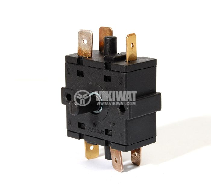 Electric switch, Four Position, 6-pin - 1