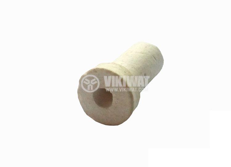 Керамичен изолатор, Т - образен, малък - 2