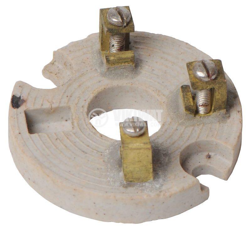Клема, порцеланова 3x2.5mm2 за разклонителна кутия