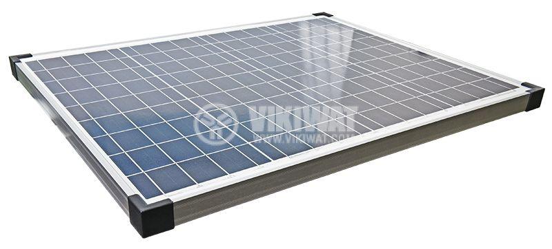 Соларен панел 50W, 12V, 2.62A - 2
