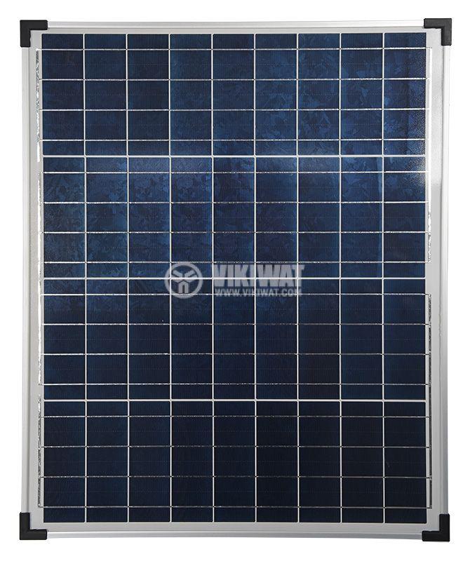Соларен панел 50W, 12V, 2.62A - 1