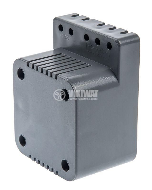 Звънчев трансформатор T3, 220VAC / 3-5-8VAC - 2
