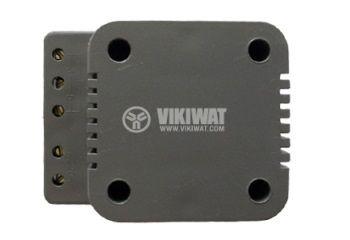 Звънчев трансформатор 220/3,5,8VAC, 300mA - 2
