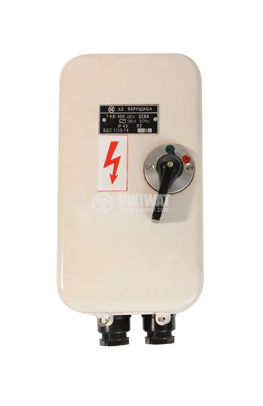 Automatic circuit breaker А1, 380VAC, 32.6A, IP43 - 1