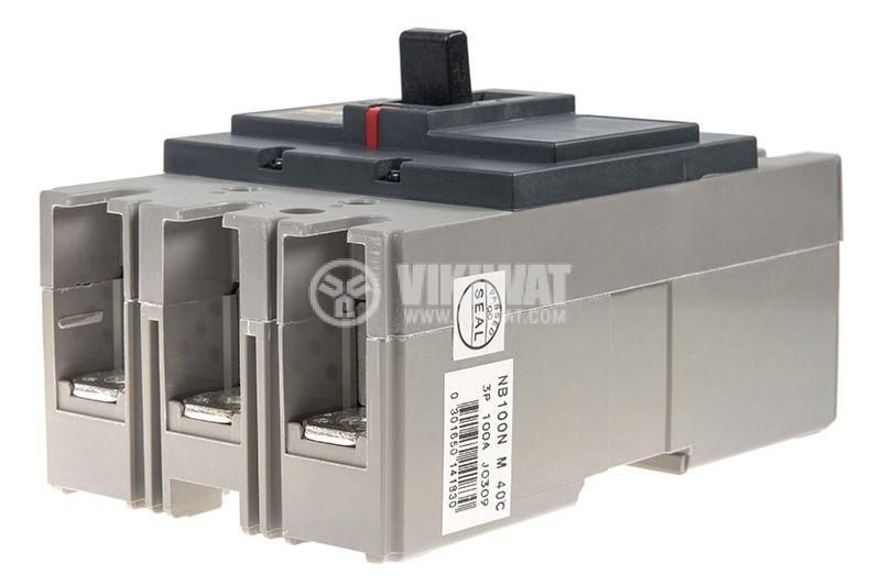 Автоматичен прекъсвач NB100N, 3P, 100A, 690VAC - 4