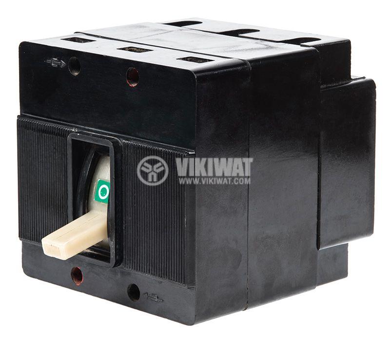 Автоматичен прекъсвач, А-1, 3P, 100А, 500VAC, 220VDC - 1