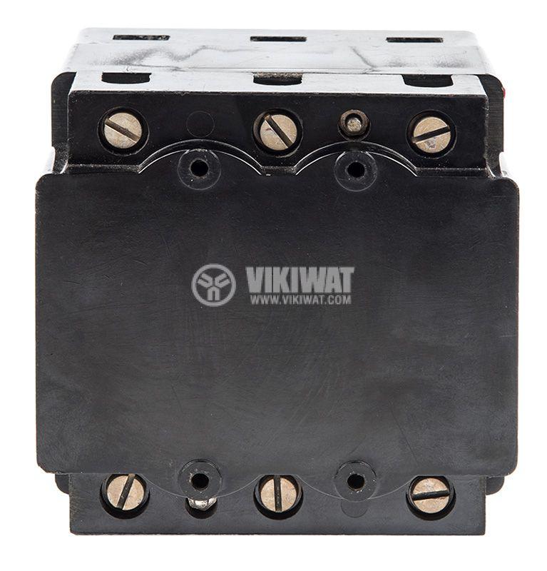 Автоматичен прекъсвач, А-1, 3P, 100А, 500VAC, 220VDC - 4