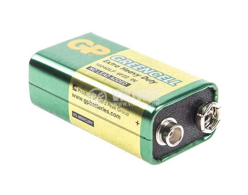 Батерия GP POWERCELL 6F22, 9VDC - 1