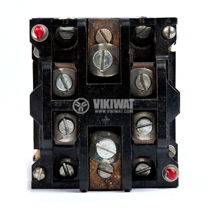 Contactor, one-pоle, coil 48VDC, SPST - NO, 25A, КПЕ-2, 2NO+2NC - 2