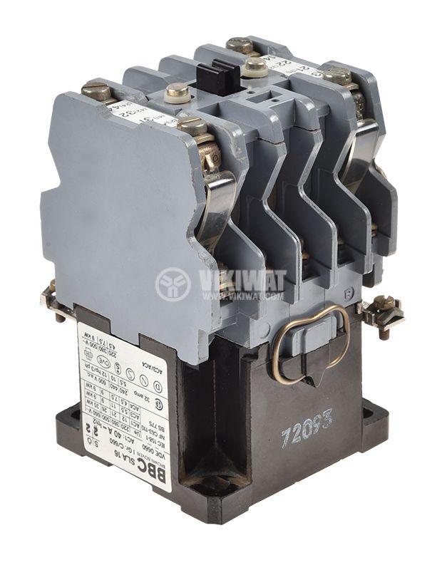 Контактор BBC SLA16, триполюсен, бобина 110VАC, 3P, 32A, 2NO+2NC - 2