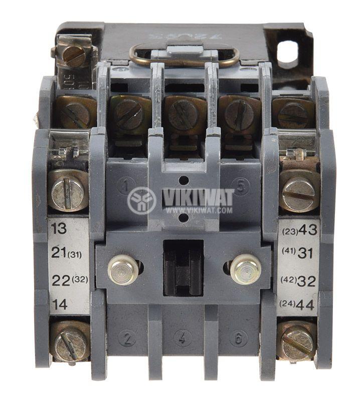 Контактор BBC SLA16, триполюсен, бобина 110VАC, 3P, 32A, 2NO+2NC - 4