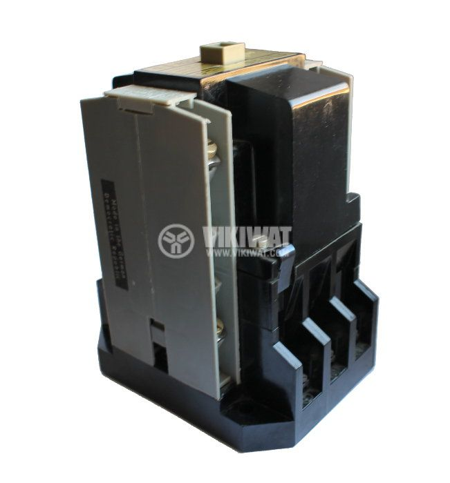 Контактор, трифазен, бобина 220VAC, 3PST - 3NO, 25A, ID-25, 2NO+2NC - 1