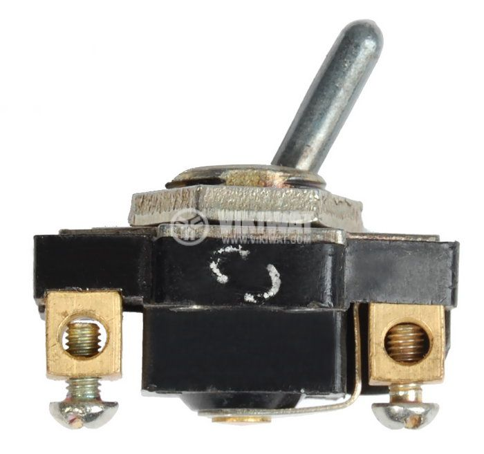 ЦК ключ ВК26-А2(П20-А2), 6A/250VAC, SPST, ON-ON - 1