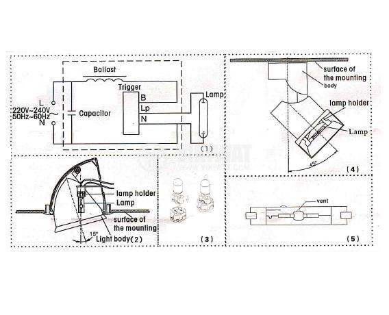 Метал-халогенна лампа 70W - 3
