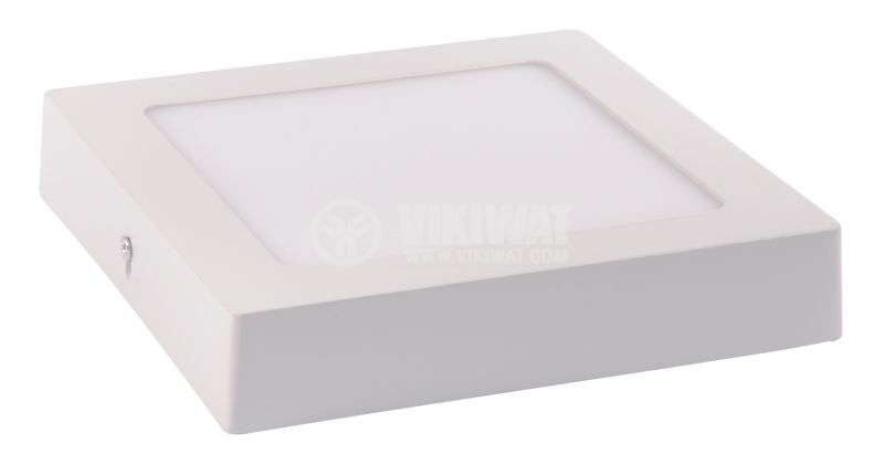 LED INSTALLATION PANEL BP04 - 31230, 12W, 240VAC, 6400K, COLD WHITE, IP20, Ф170X170 MM - 4