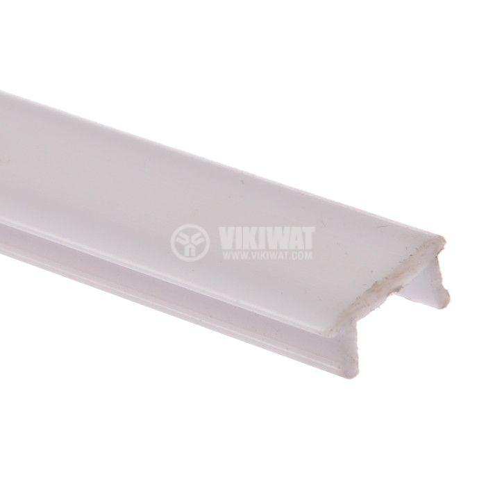 Дифузер за алуминиев профил за LED лента, матиран